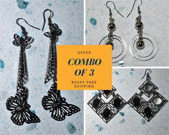 Earrings for Women - Combo Offer