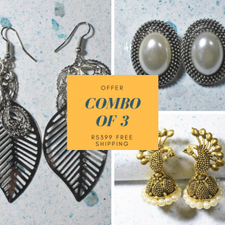 Earrings Combo for Women