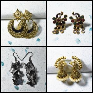 Earrings for Women: Buy Latest Stylish & Traditional Earrings Online India